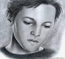 BB: Young Dean Portrait, Fractured Bonds by Sillie