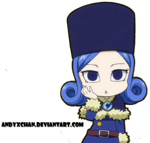 Chibi Juvia - Render by andyxchan