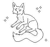 YCH pixel kitty