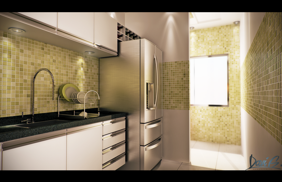 Kitchen by davibaixo