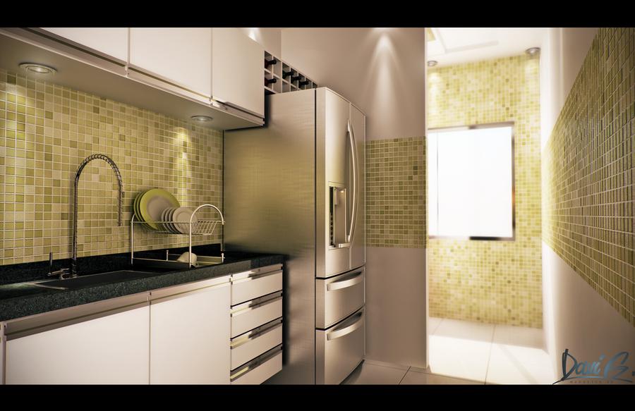 Kitchen by davibaixo