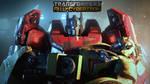TF FAll of Cybertron Promo Wallpaper