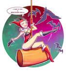 Harley Quinn Wrecking Ball