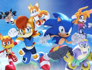 Original - Sonic The Hedgehog 257 Cover