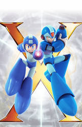 *Original - Megaman #37 Variant Cover by Elesis-Knight
