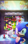 Official - Sonic The Hedgehog #271 Variant Cover