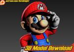 Super Mario - 3D Model Download