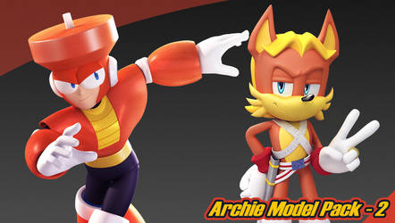 Archie Model Pack 2 by Elesis-Knight