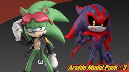 Archie Model Pack 3 by Elesis-Knight