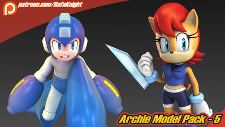 Archie Model Pack 5 by Elesis-Knight