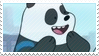 panda bear stamp by hoqwarts