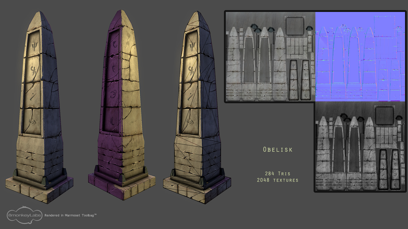 Obelisk by Andacalagon