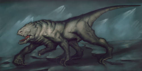 Creature(no name yet) by Andacalagon