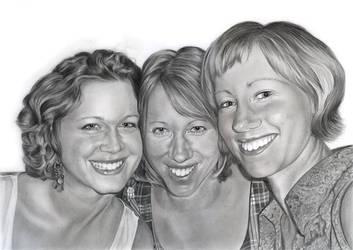 Sisters by Ileina