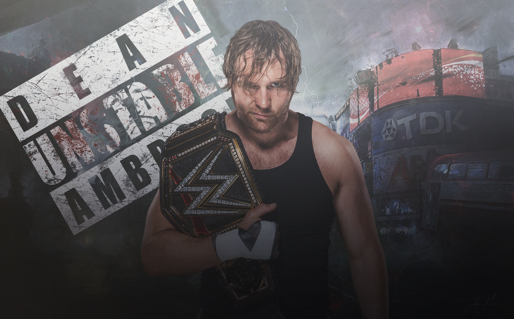 Dean Ambrose Wallpaper By Tricckezz
