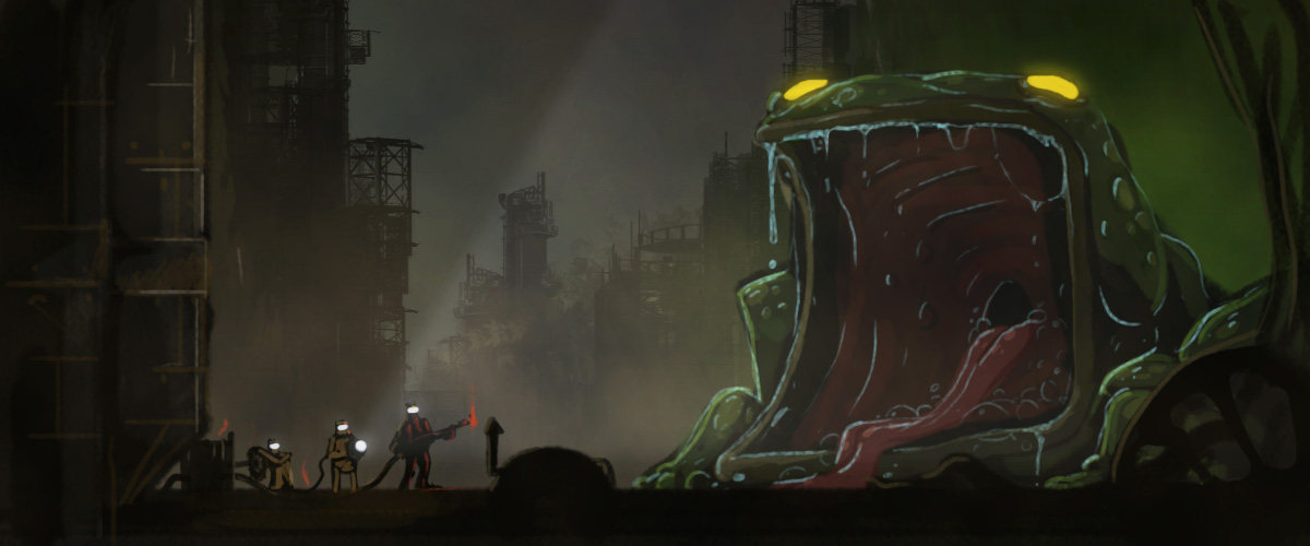 Nuclear Frog Speedpainting by ARCallejas