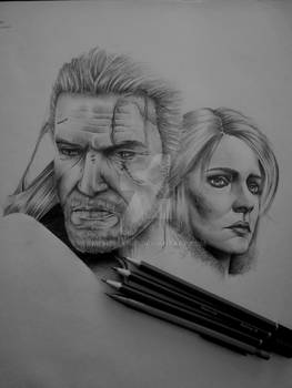 The Witcher 3: Wild Hunt WIP A3 Sketch