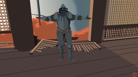 Sekiro Armored Warrior
