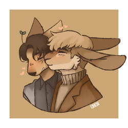 Fluffy boyfriends by Odachin
