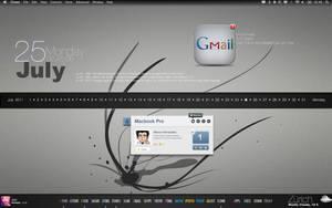 Geektool Desktop Update V2 by xunil75