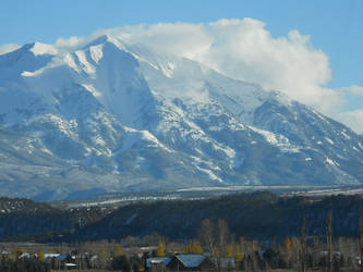 Mount Sopris in Colorado by BBurtonArt