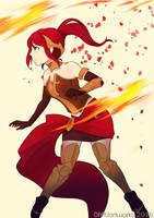 Pyrrha (Fanart) by toeifighter2
