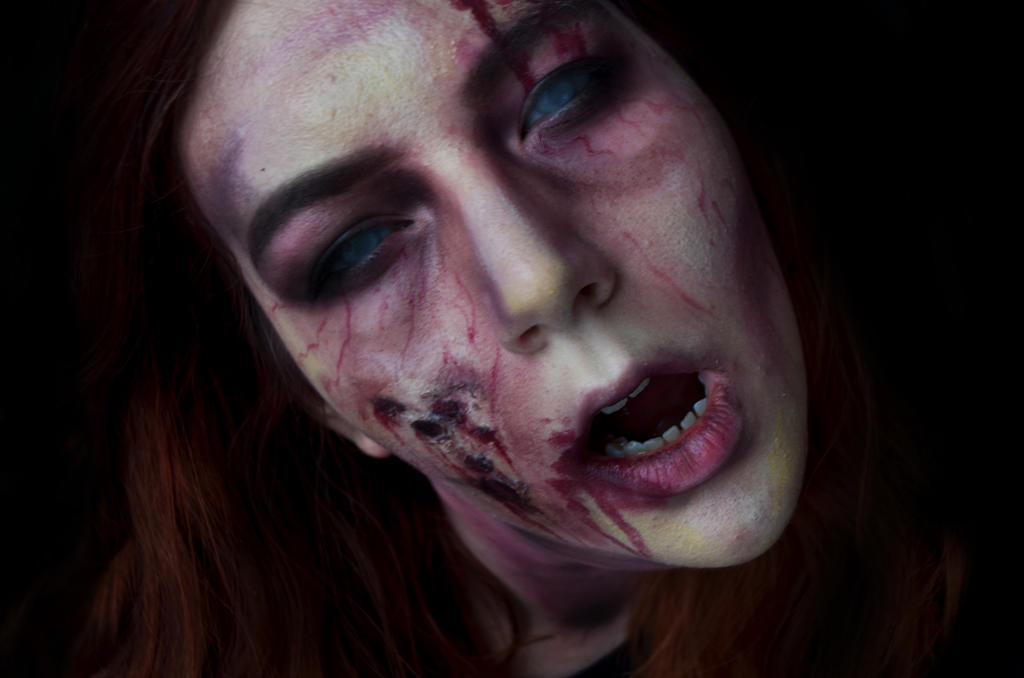 Halloween Zombie Makeup Tutorial now uploaded! by KatieCreates92 ...