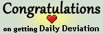 Congratulations on getting DD by CongratsDD1plz
