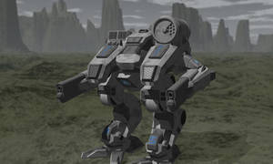 OSA 'Dragoon'-Type BattleMech