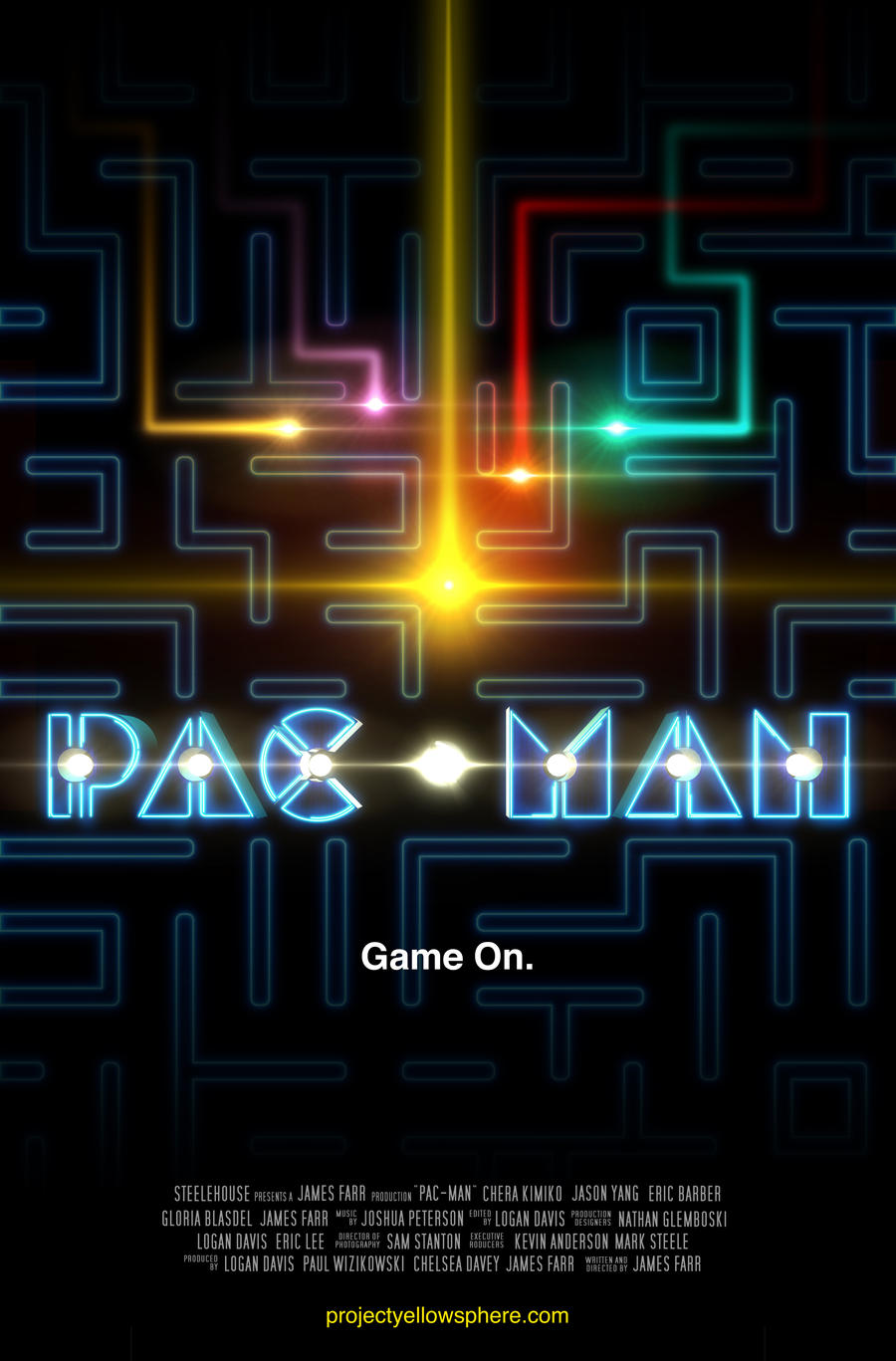 PacMan Movie Poster by LoganEDavis