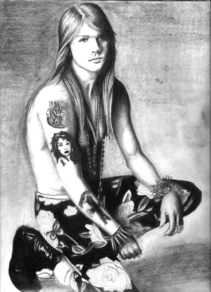 Axl Rose by Maria1987