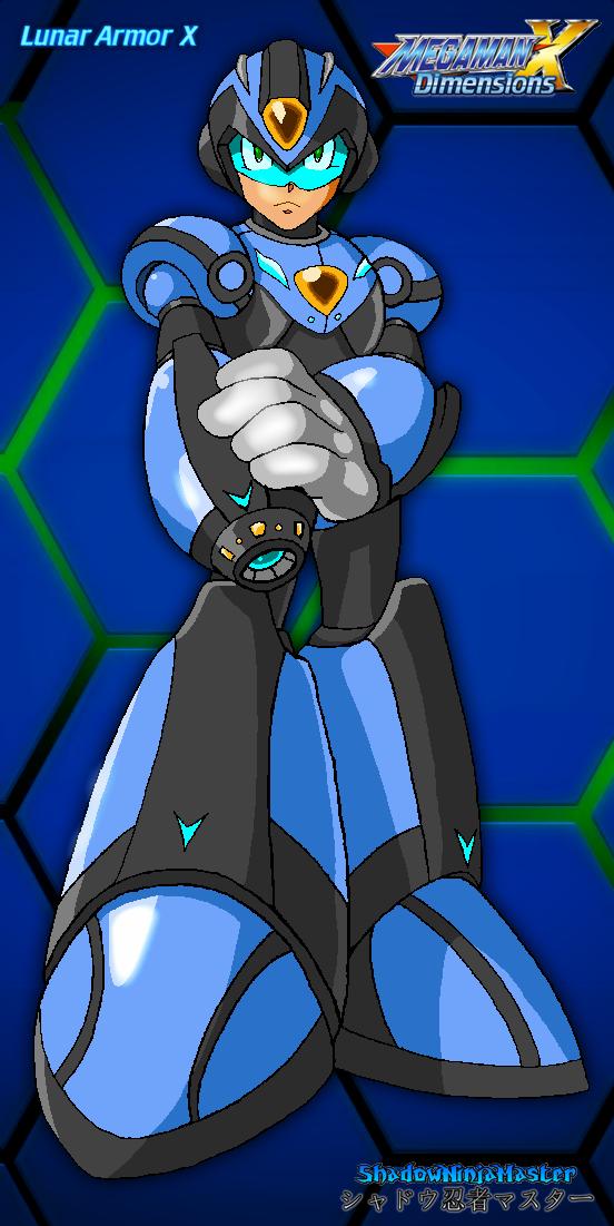 Lunar Armor X by ShadowNinjaMaster