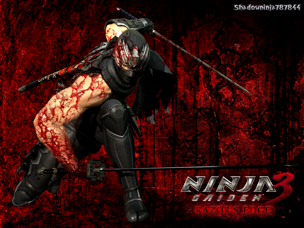 ninja gaiden 3 razor's edge wallpapershadowninjamaster on deviantart