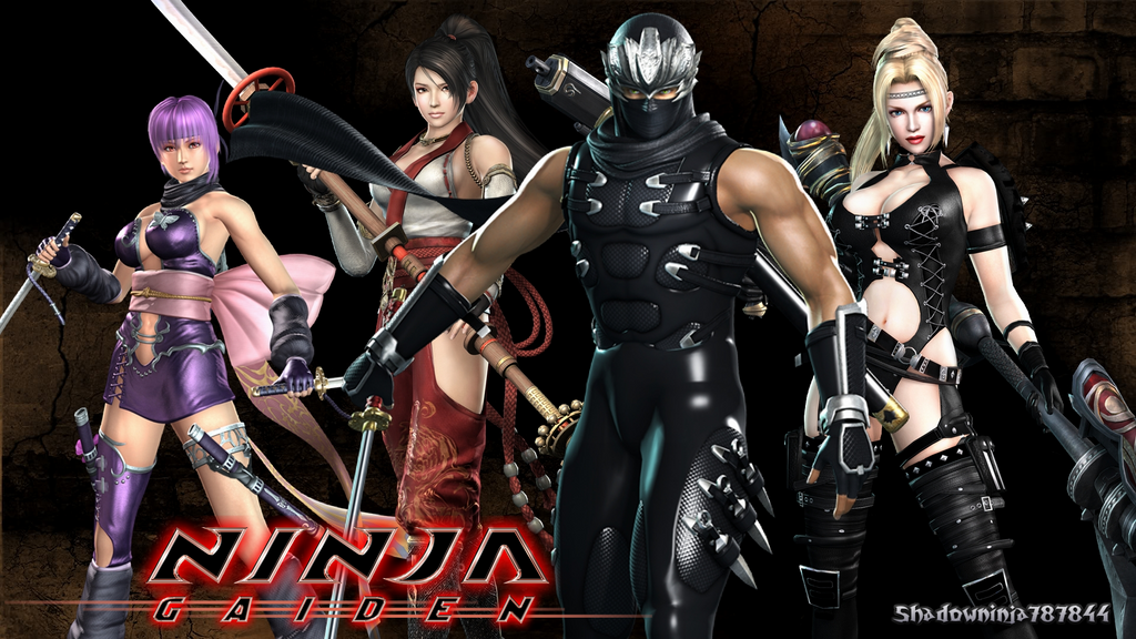 Ryu Hayabusa And The Girls Wallpaper By ShadowNinjaMaster