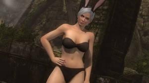 Christie - Seductive Black Bunny 1