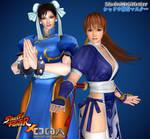 SF X DOA: Chun-Li and Kasumi