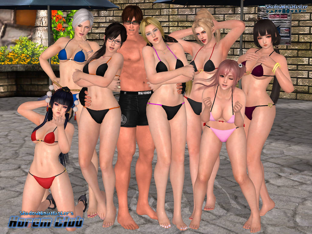 ShadowNinjaMaster's Harem Club