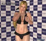 Helena: Sexy In Black Photoshoot