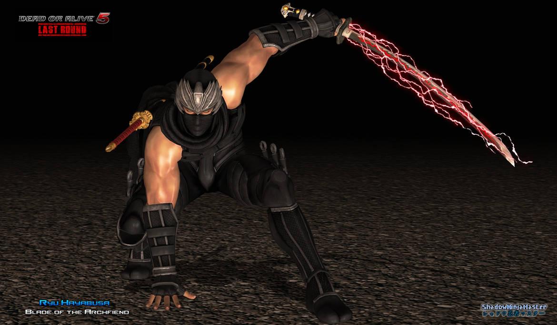 Ryu Hayabusa Blade Of The Archfiend By Shadowninjamaster On Deviantart