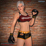MMA Fighters Photoshoot: Christie