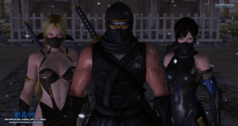 Shadow Ninja Clan: Shadow, Kokoro and Helena