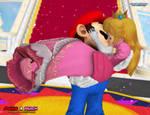 Mario X Peach: A Kiss For My Hero 2