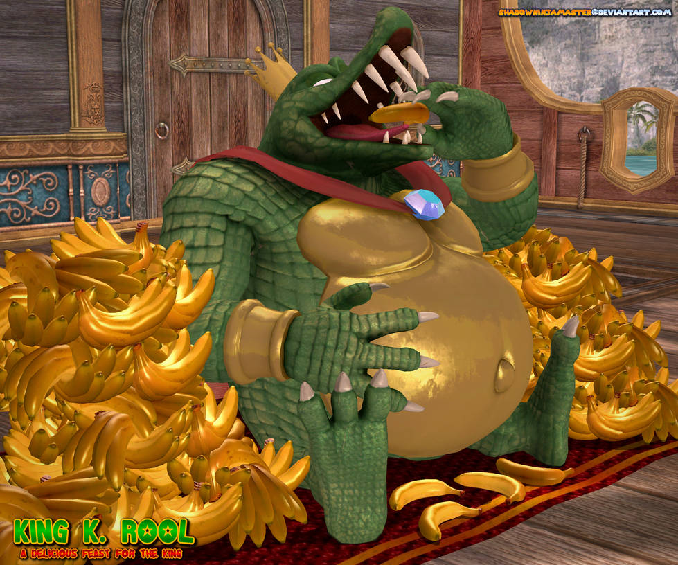 King K Rool: A Delicious Feast for the King by ShadowNinjaMaster