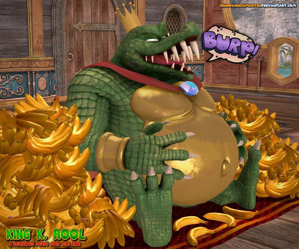 King K Rool: A Delicious Feast for the King 2 by ShadowNinjaMaster