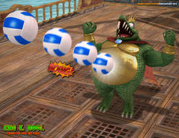 King K Rool: Watch Out for the Belly!!!