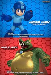 Mega Man Vs. King K Rool (Cover)