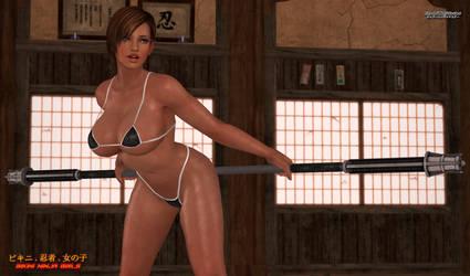 Bikini Ninja Girls: Lisa Hamilton 5
