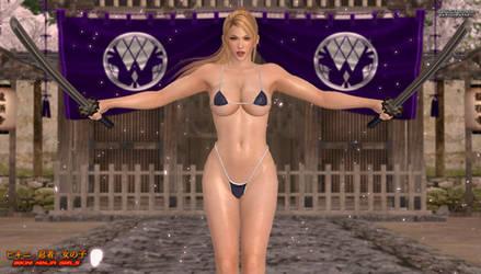 Bikini Ninja Girls: Sarah 2