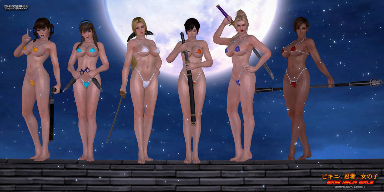 Bikini Ninja Girls: Moonlight Kunoichi