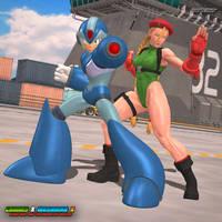 Cammy X Megaman X: Killer Bee and Maverick Hunter